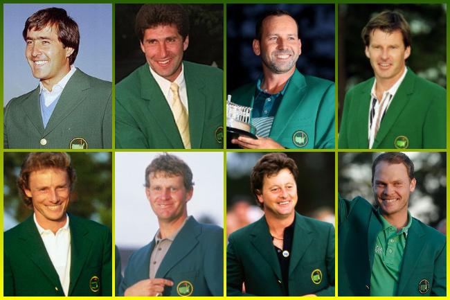 ¿Sabías que… Europa solo cuenta con 13 Chaquetas Verdes en los casi 90 años de historia del Masters?