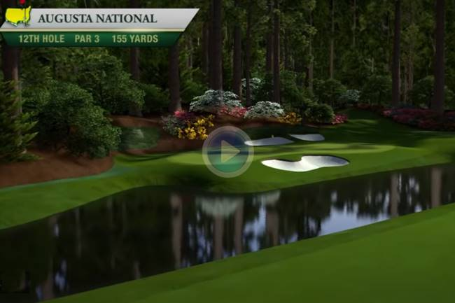 La joya de Augusta, sede del Masters, a vista de pájaro. Descubra sus hoyos uno a uno (Inc. VÍDEO)