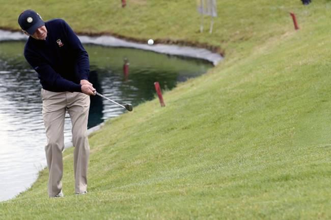 Joe Biden Golf Foto @Ben___Leonard