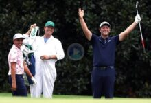 Jon Rahm encandilaba al mundo entero hace cinco meses con este Hoyo en Uno en el 16 de Augusta