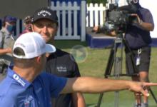 Este purito de Rahm con celebración incluida, elegido por el PGA Tour como el Golpe del Día