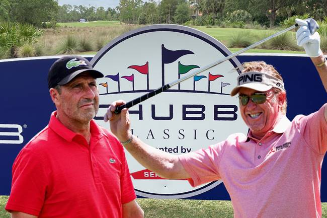 Miguel Ángel Jiménez y Txema Olazábal, tras su éxito en Augusta, a la conquista del Chubb Classic