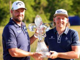 Rahm y Palmer finalizan en un meritorio Top 7 en el Zurich Classic en la victoria de Leishman y Smith