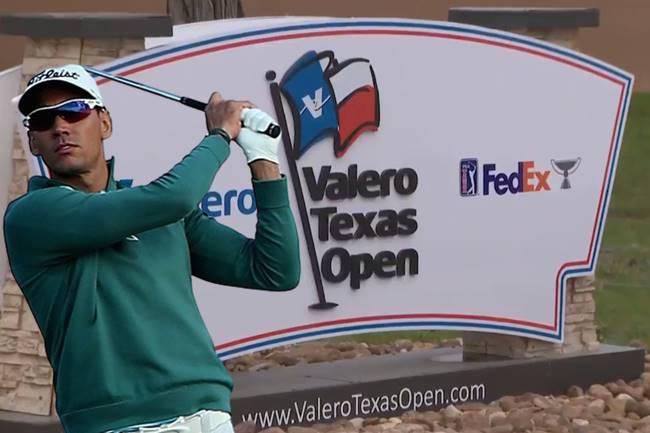 Rafa Cabrera Bello Valero Texas Open Entrada Logo