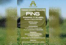 Font del Llop Golf celebra el próximo domingo 11 de abril el Torneo PING con grandes premios