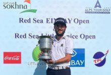 Ángel Hidalgo estrena su casillero de victorias en el Alps Tour al imponerse en el Ein Bay Open de Egipto