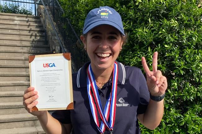 Ana Peláez se gana su presencia en el US Women's Open al imponerse en la previa clasificatoria