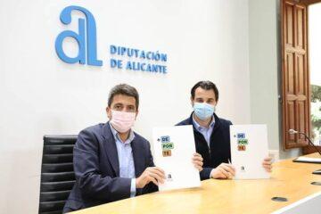 La Diputación de Alicante invierte 10 millones de euros en la mejora de las instalaciones deportivas de los municipios con el Plan +Deporte