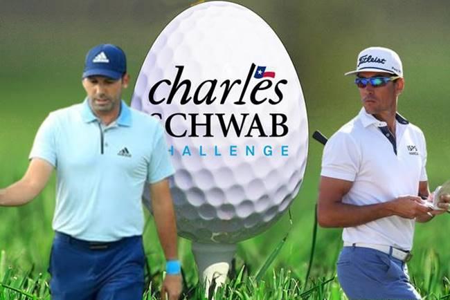 Charles Schwab Challenge bola Sergio García y Rafa Cabrera