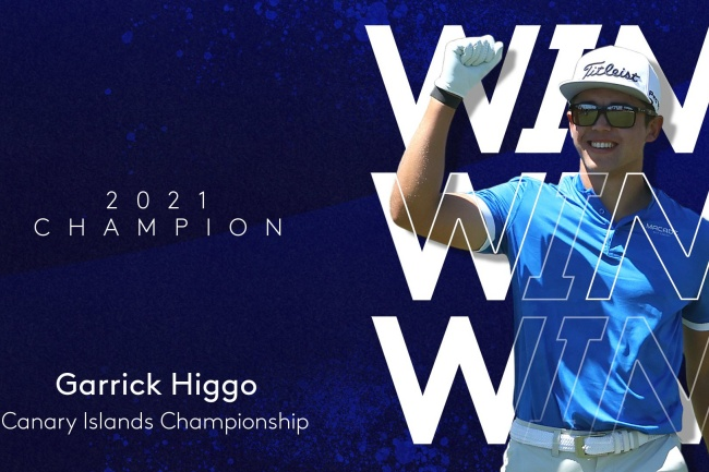 Garrick Higgo, European Tour, Canary Islands Championship 21, Golf Costa Adeje,