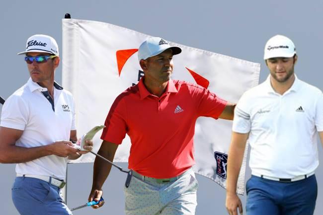 Jon Rahm, Sergio García y Rafa Cabrera en busca del Byron Nelson a una semana del PGA Champ.