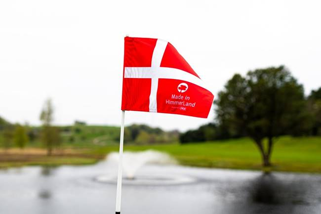 Made in HimmerLand Bandera