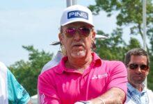 Jiménez mantiene a la vista el podio en el Senior PGA Champ. pero se aleja de un inspirado Weir