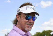 Miguel Ángel Jiménez se quedó muy cerca de hacer añicos el Senior PGA Champ. Le sobraron dos hoyos