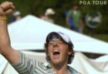 Se cumplen once años del primer triunfo de Rory en el PGA Tour. ¡Qué desparpajo de jugador!