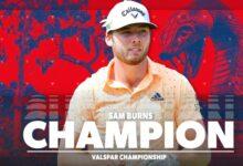 Sam Burns se estrena en el PGA Tour con la victoria en el Valspar gracias a un final de mucha emoción