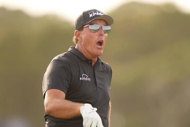 Phil Mickelson en el PGA Championship 2021 Foto PGA of America
