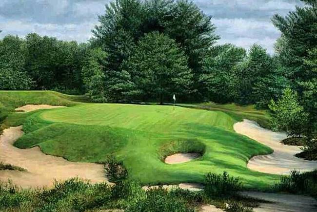 Pine Valley Golf Club. Foto @LifeOnTheLink