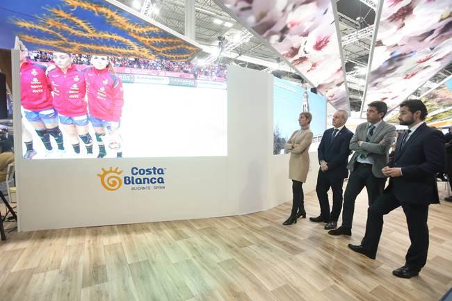 Costa Blanca invita en FITUR al turista nacional con una campaña para redescubrir la provincia