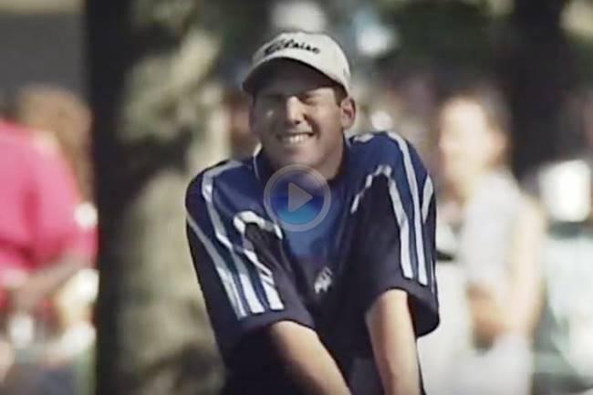 ¿Recuerdan aquel golpe de Sergio debajo del árbol? Es uno de los 5 mejores en la historia del US PGA