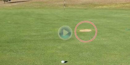 REGLAS: ¿Qué ocurre si su bola está en el green y hay terreno en reparación en su línea de juego?