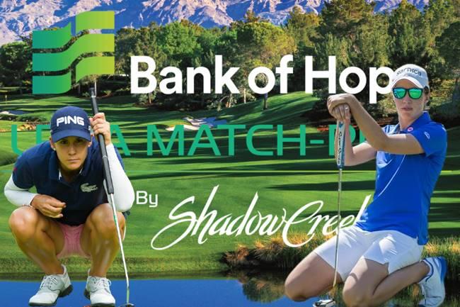 The Bank of Hope LPGA Match Play Logo Carlota Ciganda y Azahara Muñoz