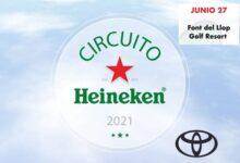 El Circuito Heineken hace parada este próximo domingo, 27 de junio, en Font del Llop Golf Resort