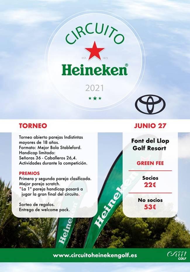 Circuito Heineken 2021 Font del Llop