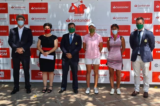 Presentada en el campo de Lauro Golf (Málaga) la primera prueba del Circuito Nacional Femenino