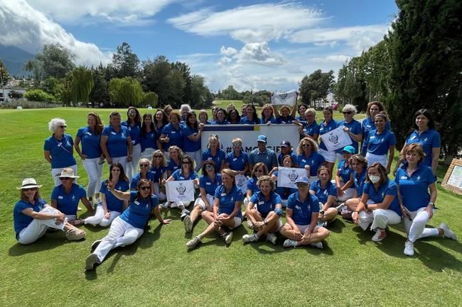 Mas de 50 embajadoras de la Solheim Cup (Costa del Sol, Andalucía) recibieron su uniforme PING