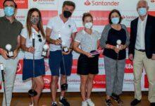 Almudena Blasco y su equipo se alzan con la victoria en el ProAm de Valencia en Oliva Nova Golf