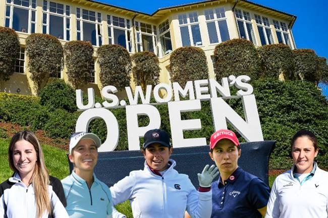 Españolas en el US Women's Open 2021