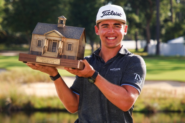 Garrick Higgo se corona con honores en el PGA Tour después del colapso final de Chesson Hadley
