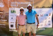 Hutchings-Hollbach y Romero-Delgado vencen en la 1ª prueba del Sotogrande Golf Challenge