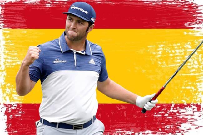 Jon Rahm Bandera España