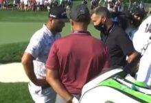 ¡No puede ser! Rahm, obligado a retirarse del Memorial tras bordar el Golf y acariciar el título