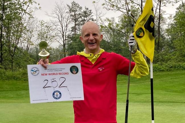 Jurg Randegger, Record Golf, JRGolfRunner,