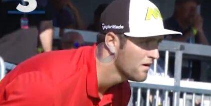Jon Rahm se cuela en el podio de los mejores golpes de la historia sobre la hierba de Torrey Pines