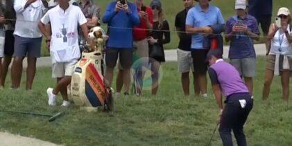Rory desató la locura este sábado en Torrey Pines con un golpazo de bandera desde el rough