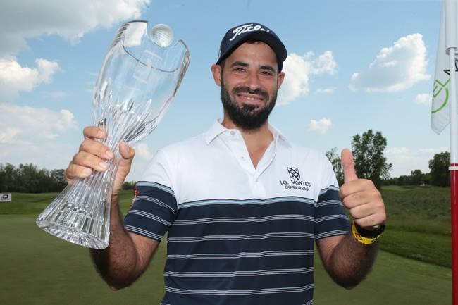 Santi Tarrío campeón en el Czech Challenge. Foto @Challenge_Tour