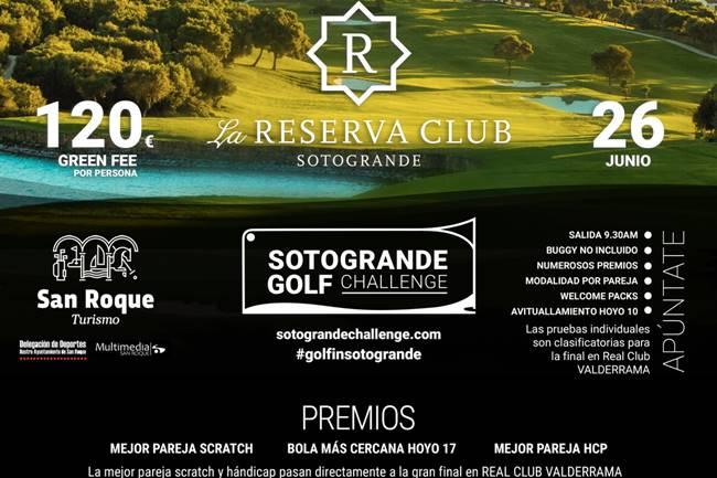 Sotogrande Golf Challenge La Reserva