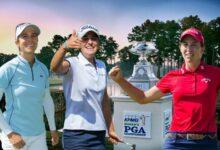 Carlota Ciganda, Azahara Muñoz y Luna Sobrón, a por el Women's PGA Champ., 3er Grande del año