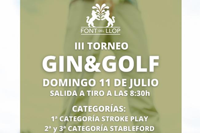 Font del Llop Torneo Gin&Golf 2021
