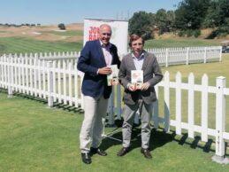 Presentado el libro, «Jon Rahm y el milagro del golf español», con Martínez Almeida apadrinándolo