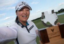 Jin Young Ko sufre, pero se apunta su octavo título en la LPGA. Fátima (Top 32), mejor española