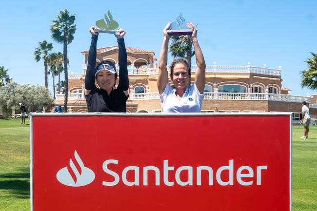 Maho Hayakawa y Almudena Blasco ganadoras en Oliva Nova