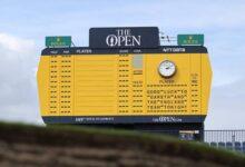 Estos son los 156 jugadores que tomarán parte en The Open, de los que cinco de ellos son españoles