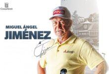 Miguel Ángel Jiménez toma posiciones en el Senior Open. El andaluz ya es sexto en Sunningdale GC