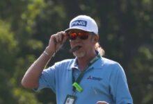 Miguel Ángel Jiménez asume el mando de la Armada en el Senior Open. Único español bajo par