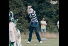 Vea el elegante swing a cámara lenta de Nacho Elvira, campeón en el Cazoo Open del Tour Europeo